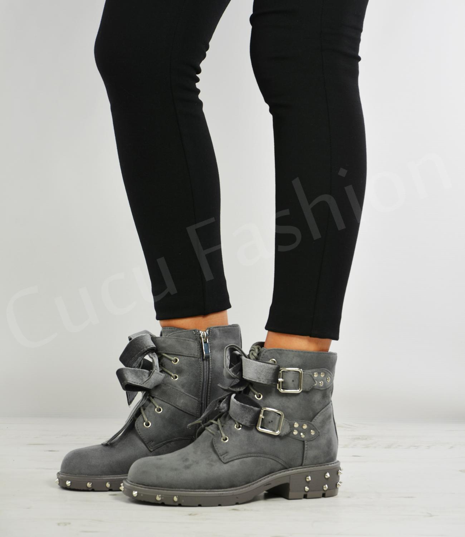 Innovative Panama Jack Felina B6 Womens Biker Boots - Women From Charles Clinkard UK