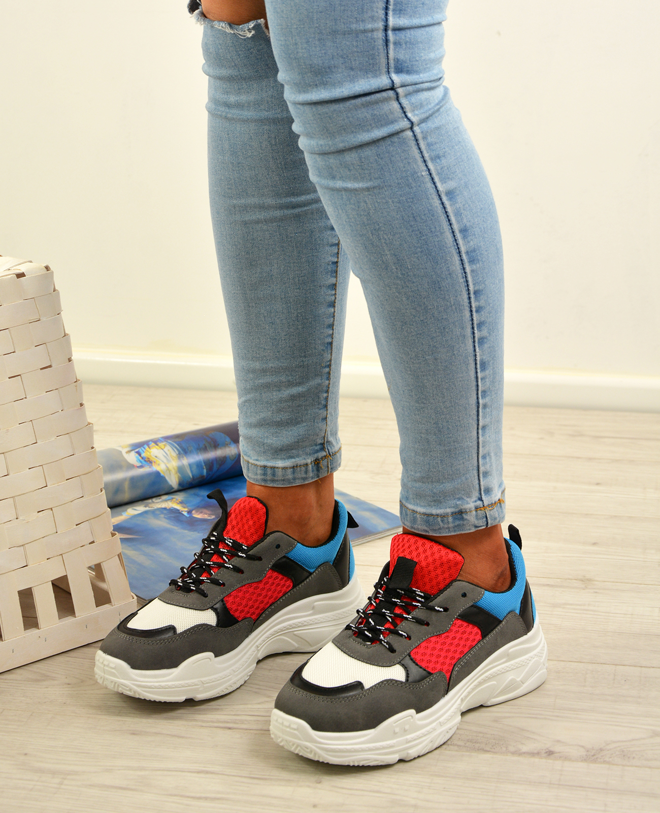 Senoras-Mujeres-Correr-Gimnasio-Zapatillas-Con-Cordones-Zapatillas-Plimsolls-Zapatos-Tallas-UK